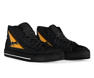VF-21 Freelancers Inspired Men's High Top Canvas Shoes - I Love a Hangar