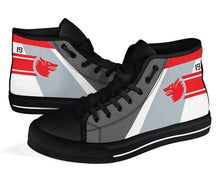 Load image into Gallery viewer, VF-1 Wolfpack Inspired Women's High Top Canvas Shoes - I Love a Hangar