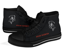 Load image into Gallery viewer, VF-101 Grim Reapers Inspired Men's High Top Canvas Shoes - I Love a Hangar