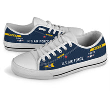 Load image into Gallery viewer, X-15 (56-6670) Inspired Women's Low Top Canvas Shoes - I Love a Hangar