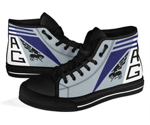 Load image into Gallery viewer, VF-143 Pukin' Dogs Inspired Men's High Top Canvas Shoes - I Love a Hangar