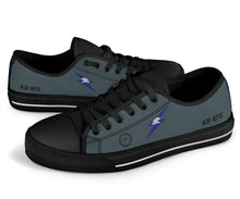 Load image into Gallery viewer, RAAF 6 Squadron F-111C Inspired Men's Low Top Canvas Shoes - I Love a Hangar