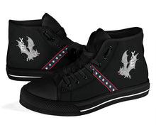 "Load image into Gallery viewer, VX-9 ""The Vampires"" Inspired Women's High Top Canvas Shoes - I Love a Hangar"