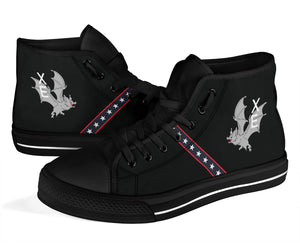 "VX-9 ""The Vampires"" Inspired Women's High Top Canvas Shoes - I Love a Hangar"