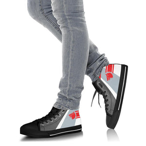 VF-1 Wolfpack Inspired Women's High Top Canvas Shoes - I Love a Hangar