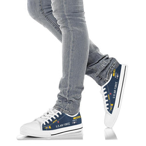 X-15 (56-6670) Inspired Women's Low Top Canvas Shoes - I Love a Hangar