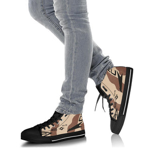 "VA-72 ""Blue Hawks"" A7-E Inspired Women's High Top Canvas Shoes - I Love a Hangar"