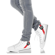 Load image into Gallery viewer, VF-41 Black Aces Inspired Women's High Top Canvas Shoes - I Love a Hangar