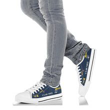 Load image into Gallery viewer, X-15 (56-6672) Inspired Women's Low Top Canvas Shoes - I Love a Hangar
