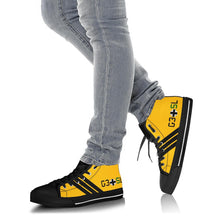 "Load image into Gallery viewer, Focke-Wulf Fw 190 of ""Major von Graf"" Inspired Women's High Top Canvas Shoes - I Love a Hangar"