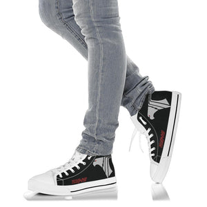"VAQ-141 ""Shadowhawks"" Inspired Women's High Top Canvas Shoes - I Love a Hangar"