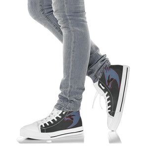 VFA-137 Kestrels Inspired Women's High Top Canvas Shoes - I Love a Hangar