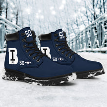 Load image into Gallery viewer, TBM-3E Avenger Block Island Inspired Men's All Seasons Boots - I Love a Hangar