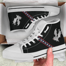 "Load image into Gallery viewer, VX-9 ""The Vampires"" Inspired Men's High Top Canvas Shoes - I Love a Hangar"