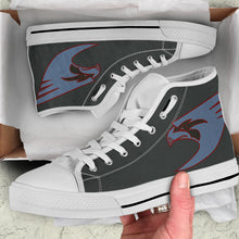 Load image into Gallery viewer, VFA-137 Kestrels Inspired Women's High Top Canvas Shoes - I Love a Hangar