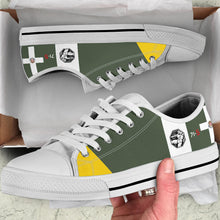 Load image into Gallery viewer, Macchi C.202 Folgore Inspired Men's Low Top Canvas Shoes - I Love a Hangar