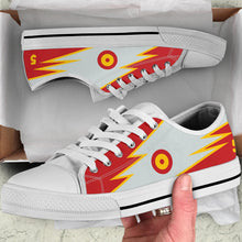 Load image into Gallery viewer, Casa C-101 Patrulla Ãguila Inspired Women's Low Top Canvas Shoes - I Love a Hangar
