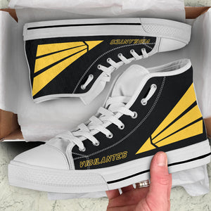 VFA-151 Vigilantes Inspired Men's High Top Canvas Shoes - I Love a Hangar