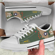 "Load image into Gallery viewer, F-4D Phantom ""Buick 01"" Inspired Men's Low Top Canvas Shoes - I Love a Hangar"