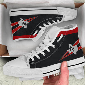 VF-201 Hunters Inspired Women's High Top Canvas Shoes - I Love a Hangar