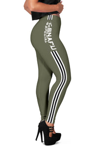 "C-47 ""The SNAFU Special"" Inspired Women's Leggings - I Love a Hangar"