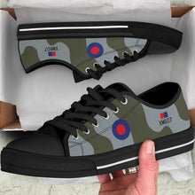 Load image into Gallery viewer, RAF Avro Vulcan Inspired Men's Low Top Canvas Shoes - I Love a Hangar