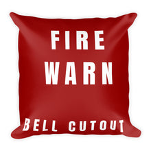 Load image into Gallery viewer, Master Warning Pillow - Single Sided Print - I Love a Hangar