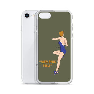 "B-17F ""Memphis Belle"" iPhone Case - I Love a Hangar"