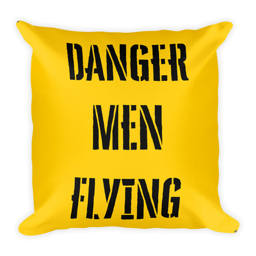 Danger Men Flying Pillow - Print Single Side Print - I Love a Hangar