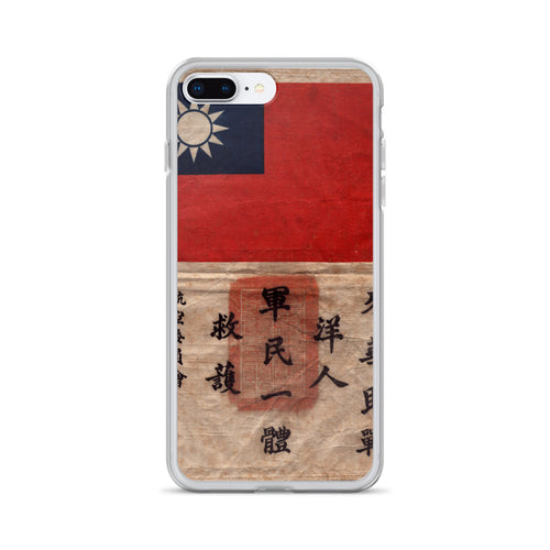 WW2 Blood Chit iPhone Case - I Love a Hangar