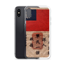 Load image into Gallery viewer, WW2 Blood Chit iPhone Case - I Love a Hangar