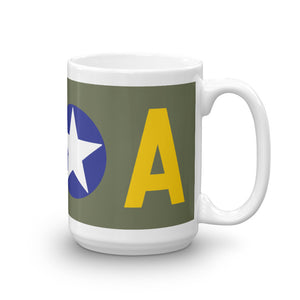 The Legendary Memphis Belle Bomber Mug - I Love a Hangar