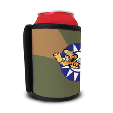"Load image into Gallery viewer, AVG ""Flying Tigers"" Inspired Custom Can & Bottle Coolers - I Love a Hangar"