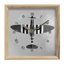 Load image into Gallery viewer, D-Day Spitfire Inspired Mantel Clock - I Love a Hangar