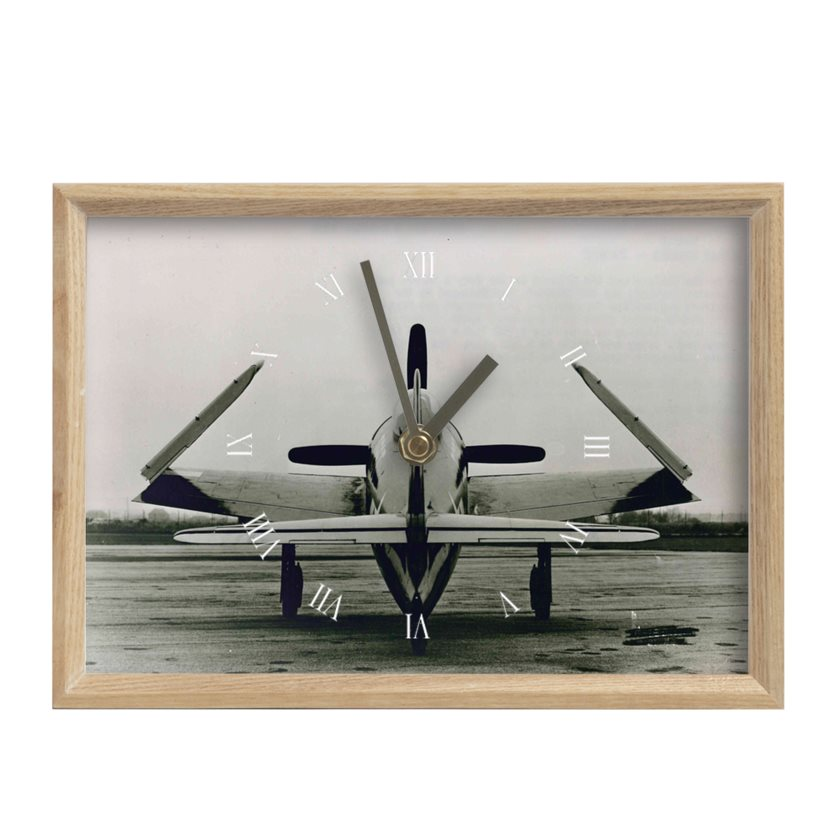 F8F Bearcat Inspired Mantel Clock - I Love a Hangar
