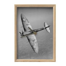 Load image into Gallery viewer, Spitfire Inspired Vertical Mantel Clock - I Love a Hangar