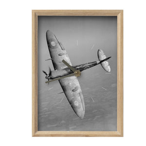 Spitfire Inspired Vertical Mantel Clock - I Love a Hangar