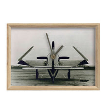 Load image into Gallery viewer, F8F Bearcat Inspired Mantel Clock - I Love a Hangar