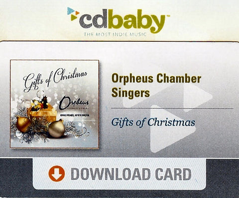 Gifts of Christmas - Digital Download Card