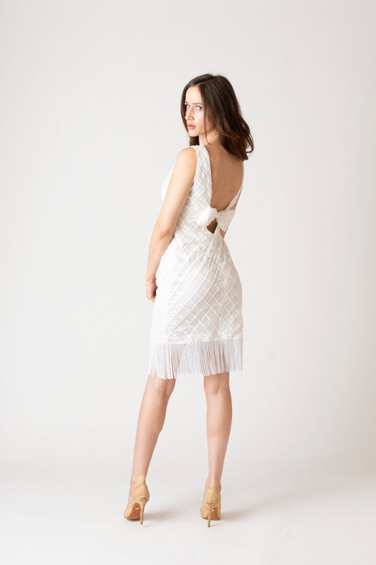 Angelina Fringe Dress