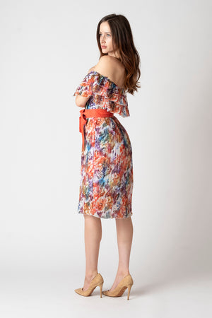 Adaline Off Shoulder Dress Floral