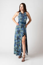 Avery Maxi Dress - Blue Paisley