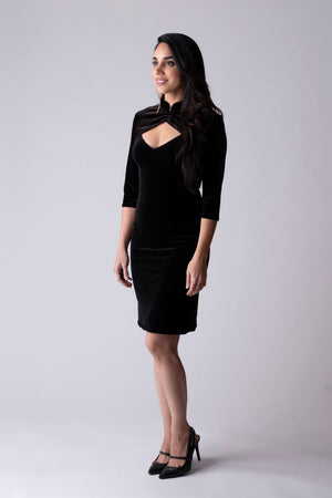 Veronica Velvet Slip Dress