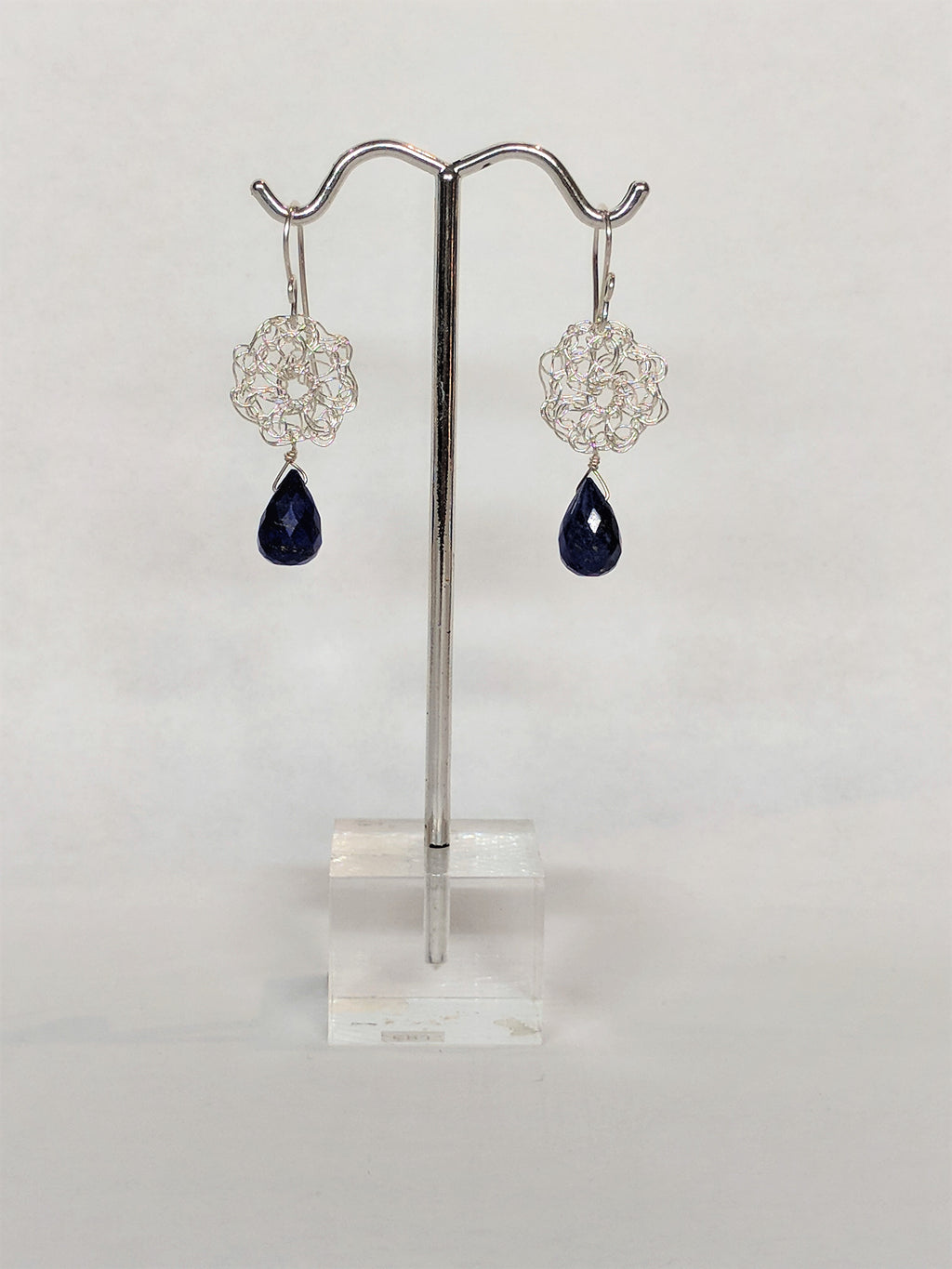 Tear Drop Earring in Lapis