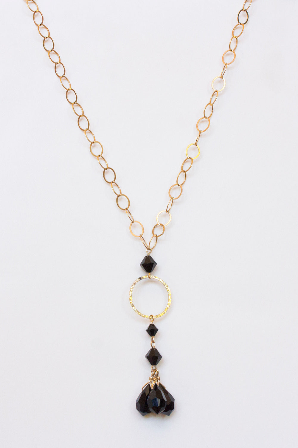 Jet Crystal Necklace