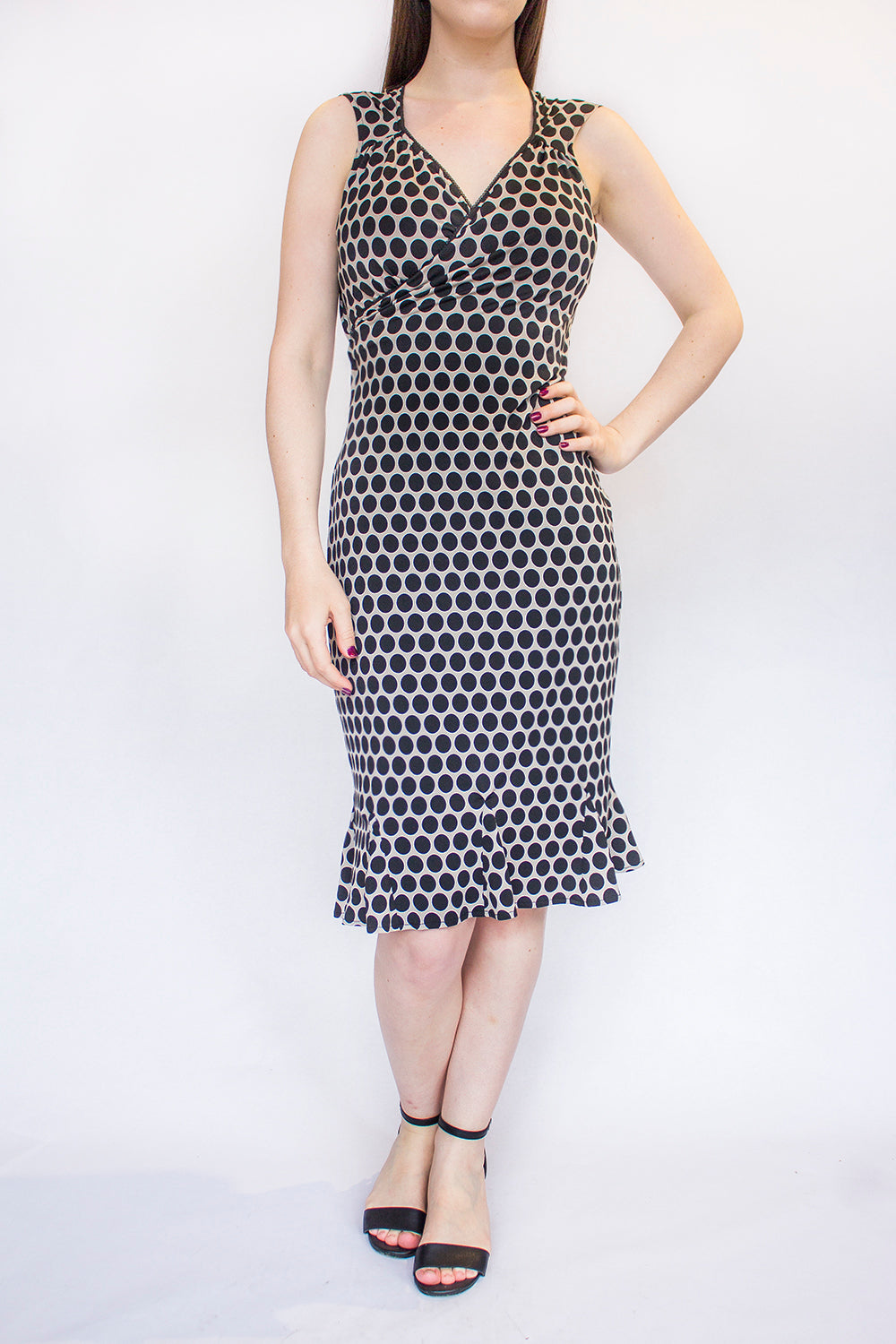Loretta Polka Dot Dress
