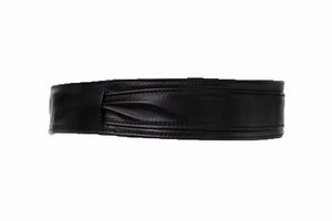 Bronsino Leather Obi Belt - Narrow