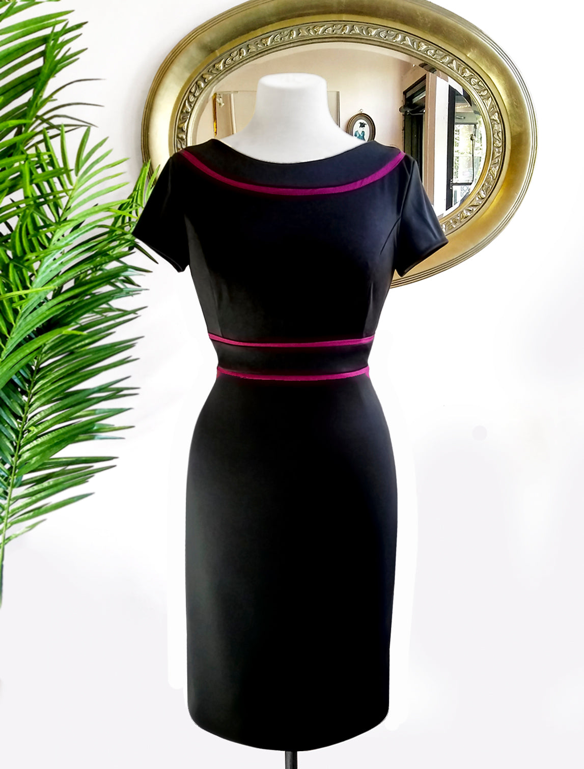 Jackie O Black Dress