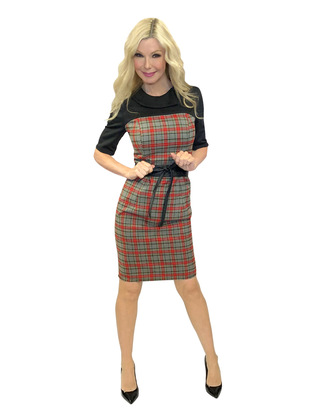 Check Tartan Dress
