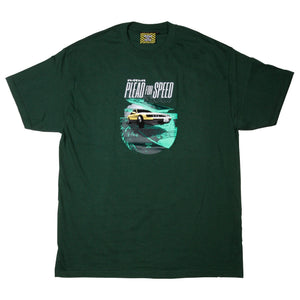 JDM II T-SHIRT, FOREST GREEN